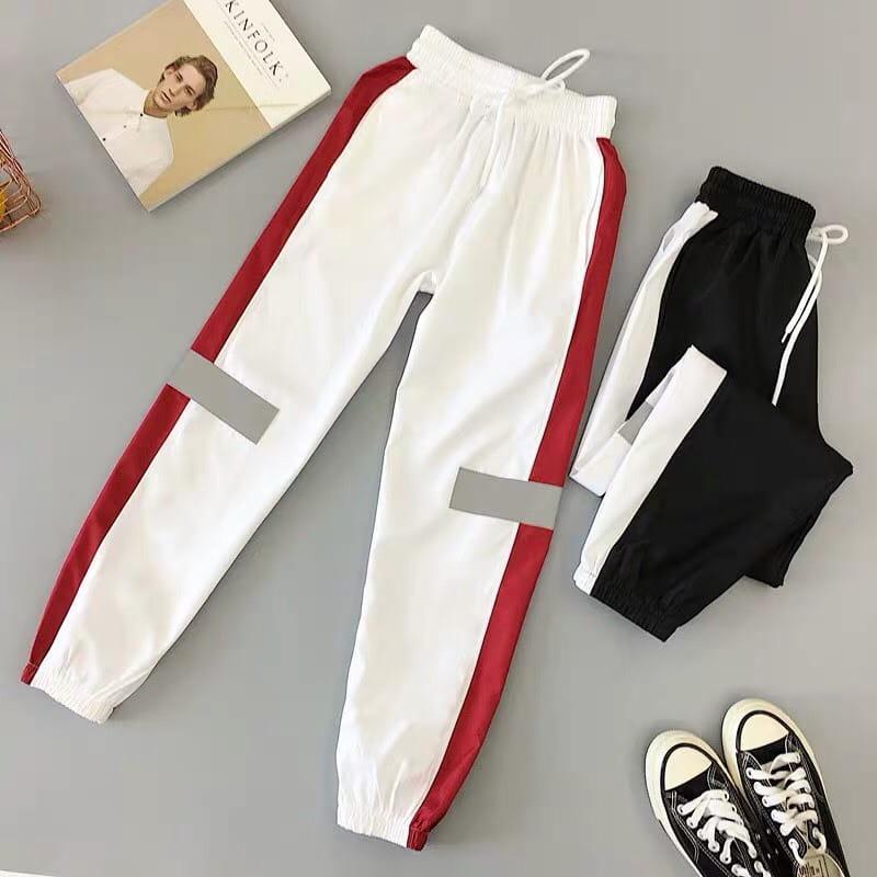 運動長褲韻律有氧跑步瑜珈-KOI 顯瘦修身 反光設計 夜跑走路安全易見有保障 12