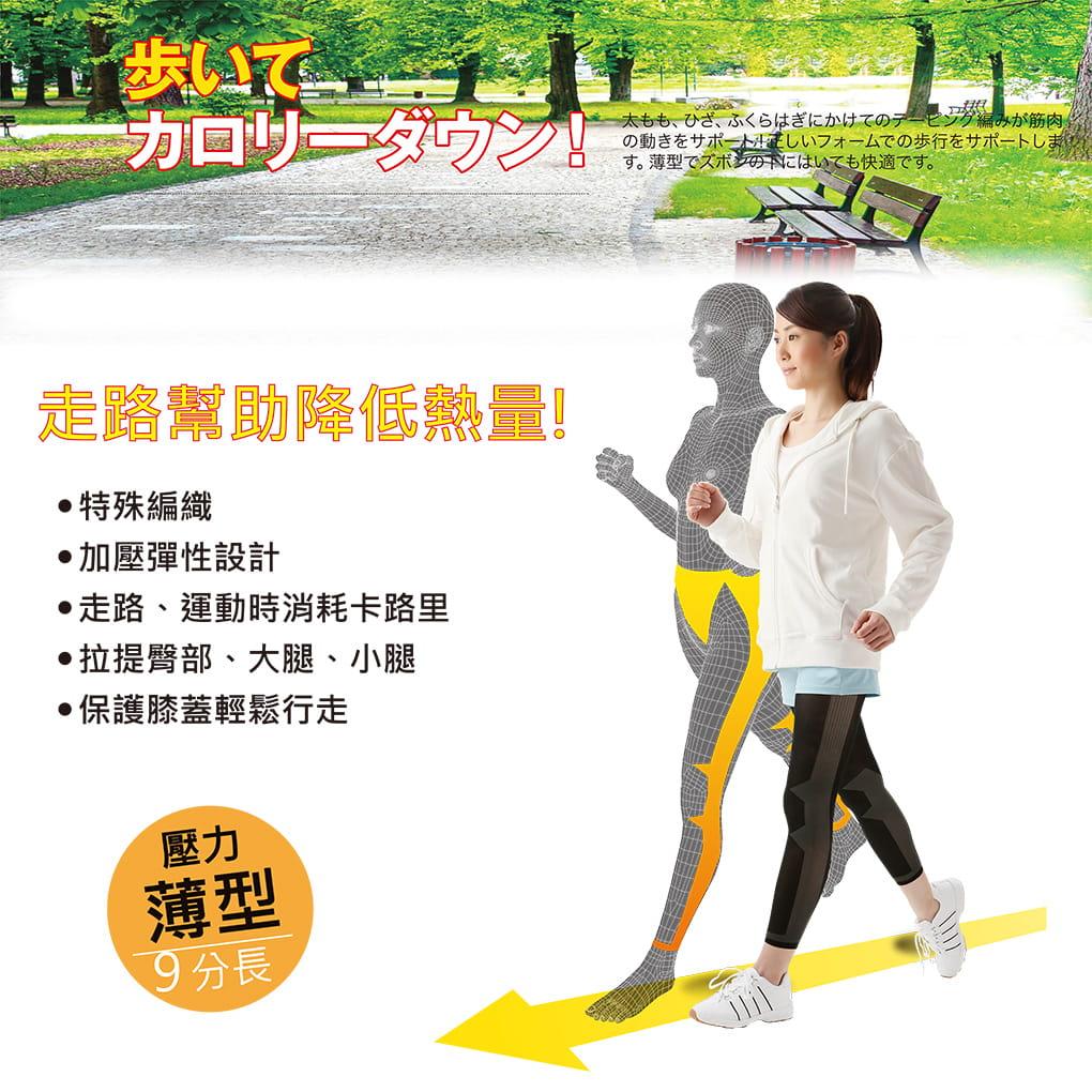 【SUNFAMILY】日本進口 健走美腿九分褲 1