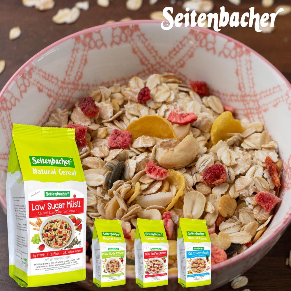 Seitenbacher天然麥片自選特惠組
