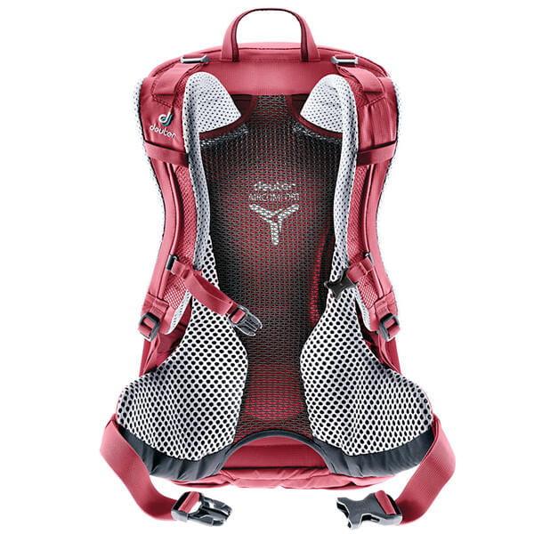 (登山屋)deuter 德國FUTURA透氣網架背包/健行包22SL(3400018莓紅) 2