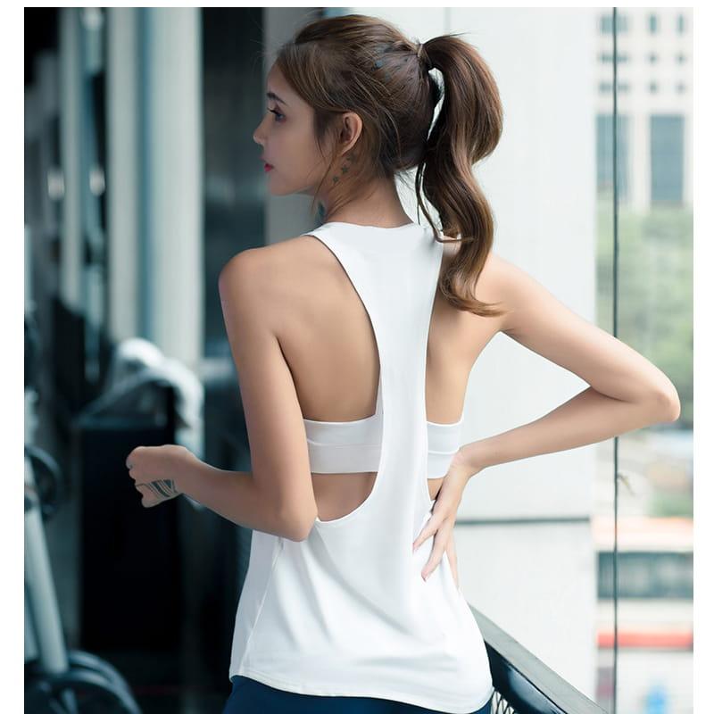 【JAR嚴選】運動健身速乾機能顯瘦背心 11