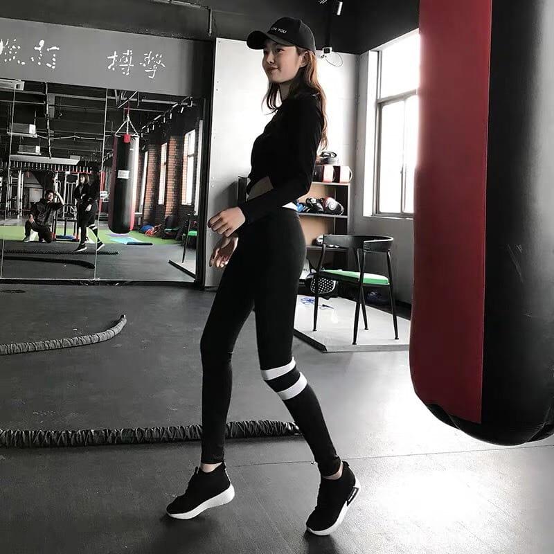 運動休閒長褲韻律有氧跑步瑜珈-KOI 4