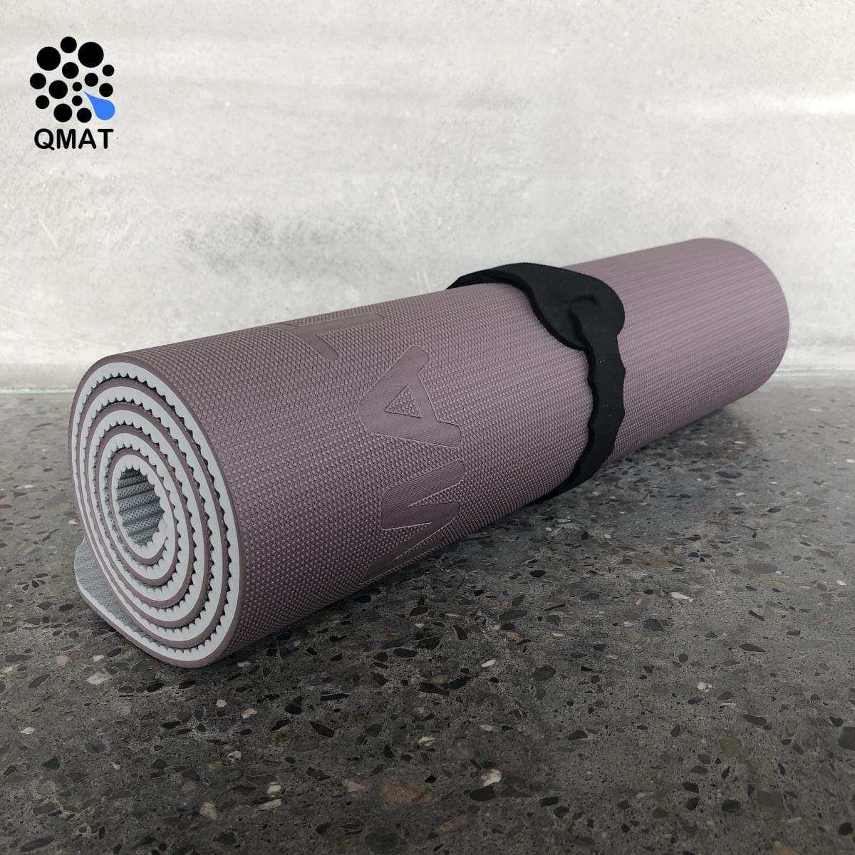 【QMAT】 10mm 雙色運動墊(共六色) 12