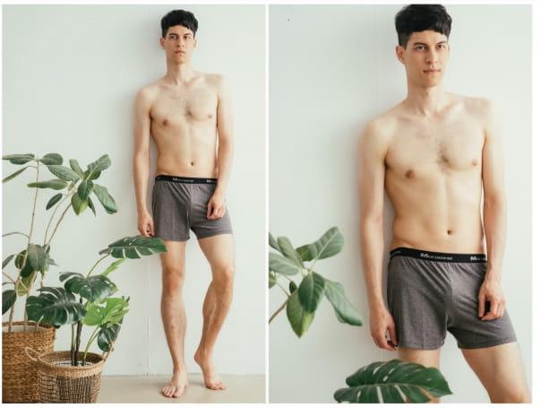 【QI藻土屋 】MIT熱銷款極舒適吸濕排汗涼感內褲平口褲四角褲運動內褲 3色 90226 3
