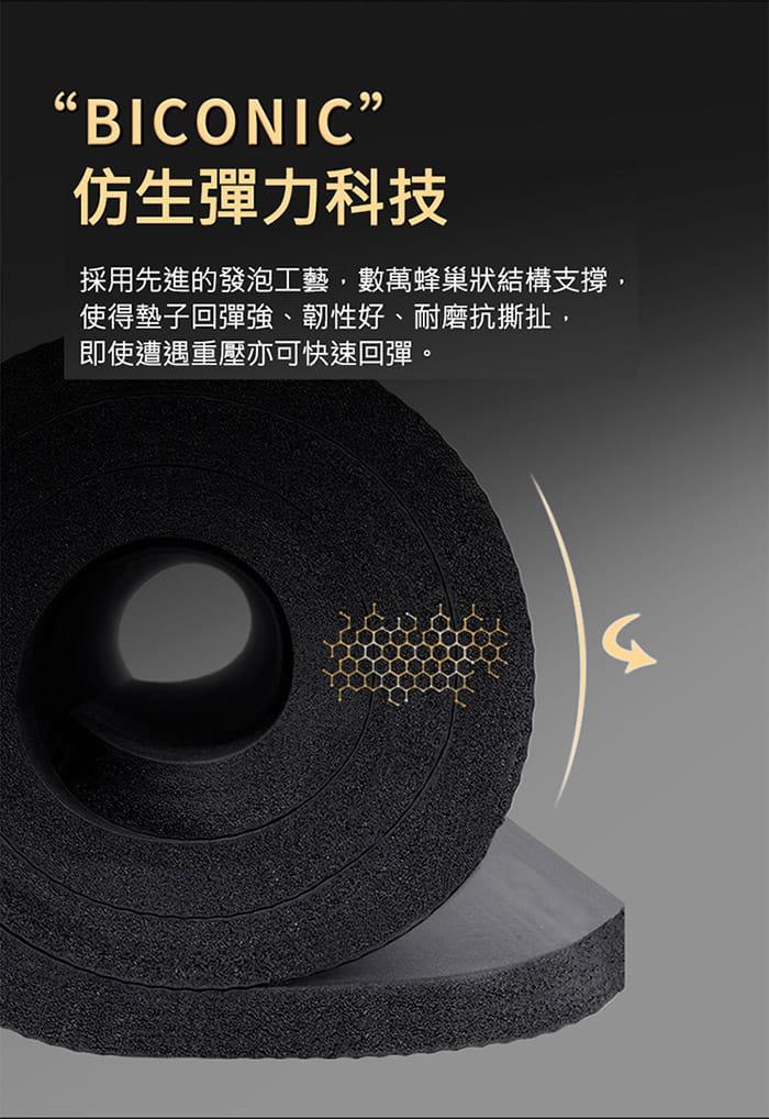 [X-BIKE]加大加厚款 15mm厚  200x80cm 瑜珈墊 贈綁帶及背袋 XFE-YG52 14
