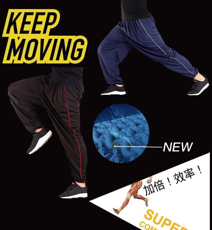 【CS衣舖】加大尺碼 32-52腰 吸濕排汗 鬆緊腰圍 運動長褲 4