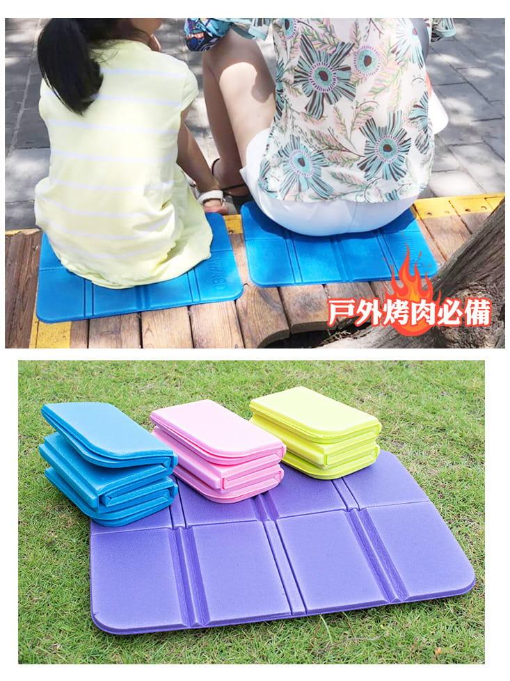 [QI藻土屋] 8折露營隨身輕巧椅墊野餐小坐墊 附贈收納袋 不到50g 7