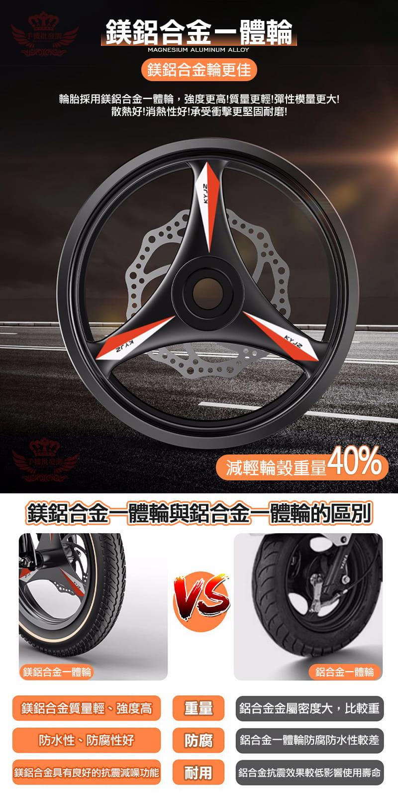 F5 電動自行車【 150公里版】 8