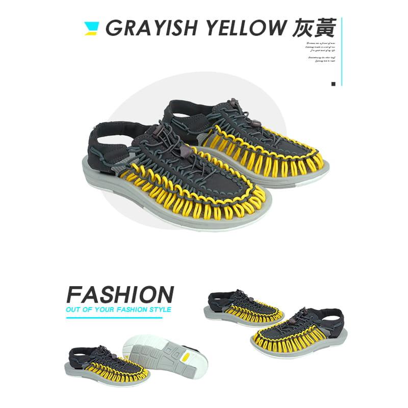 【Leon Chang】【LC雨傘】 編織運動涼鞋 17