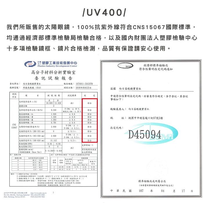 MIT 戶外護目鏡抗UV400 檢驗合格 (可套式) 13