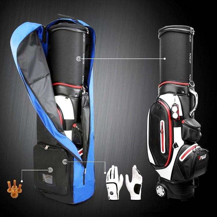 GOLF高爾夫帶滑輪航空包 托運保護袋【AE10244】 1