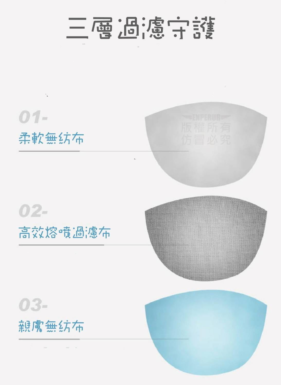 一次性防塵口罩(成人、兒童)可任選 ※款式顏色隨機出貨※ 熔噴布一般口罩 非醫療口罩 拋棄式口罩 1