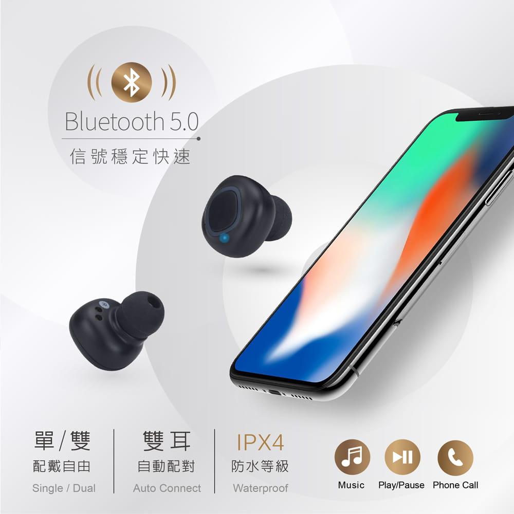 【E-books】SS13 真無線防水高音質藍牙5.0耳機 2