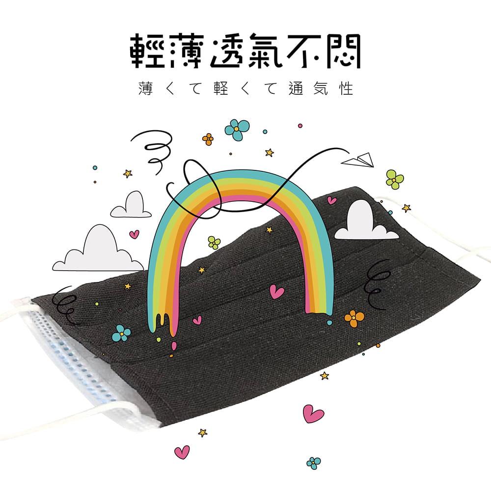 【MIT台灣製造-100%純棉口罩套】兒童/成人款 多色任選 2