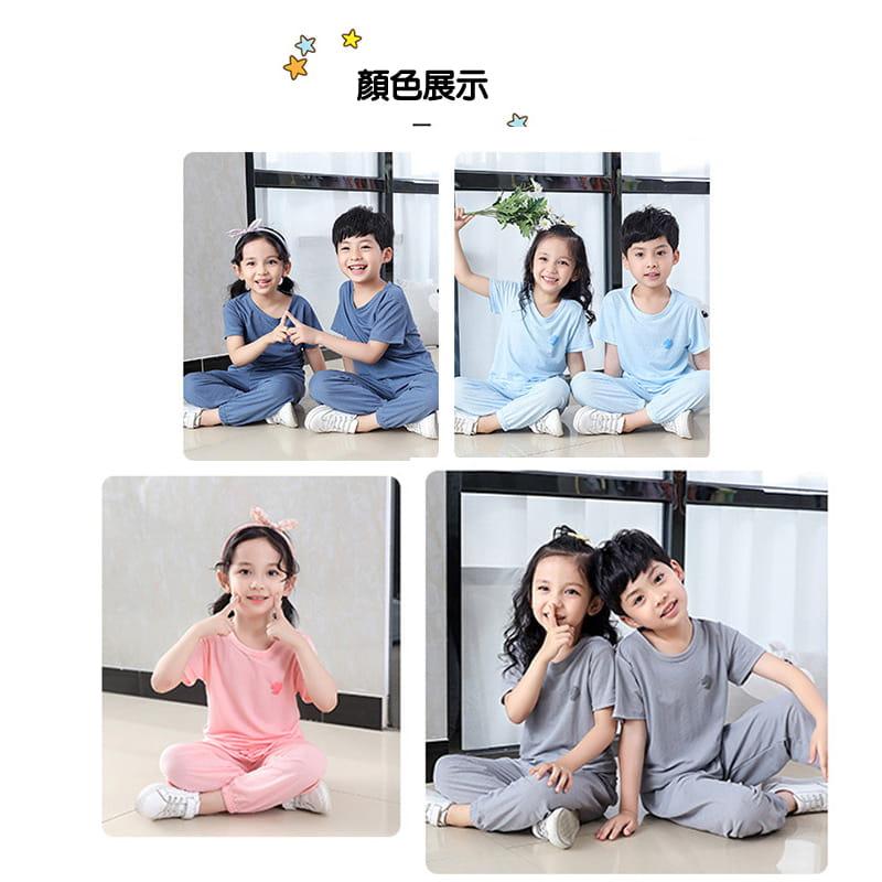 【JAR嚴選】兒童冰絲防蚊休閒兩件套套裝 7