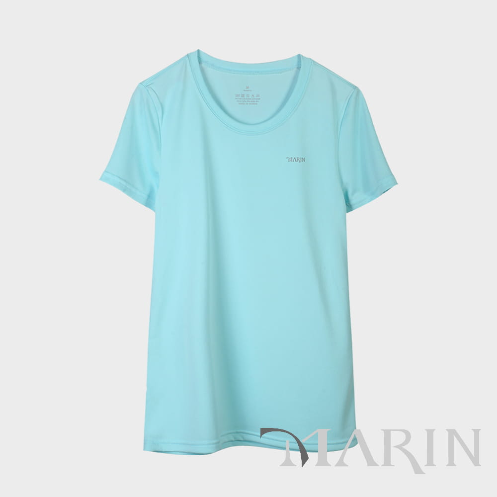 【MARIN】台灣製-鋅離子排汗logo T 0