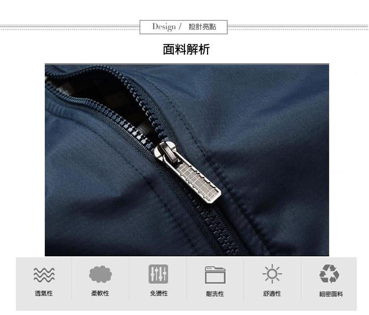 【JAR嚴選】男士時尚秋冬簡約修身夾克外套 4