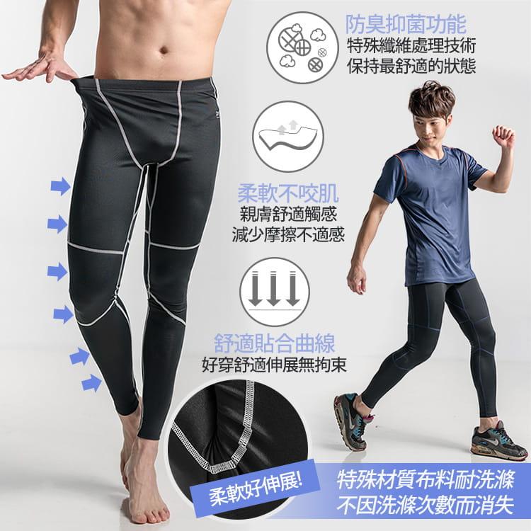 【BeautyFocus】男女智能調節運動壓力褲 7