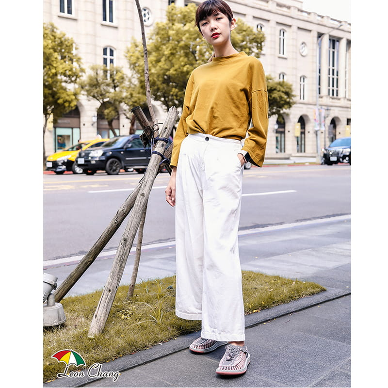 【Leon Chang】【LC雨傘】 編織運動涼鞋 4