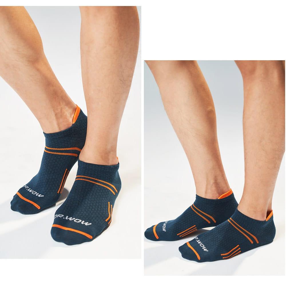 萊卡棉吸排透氣足弓機能平口襪(男/女款) 2