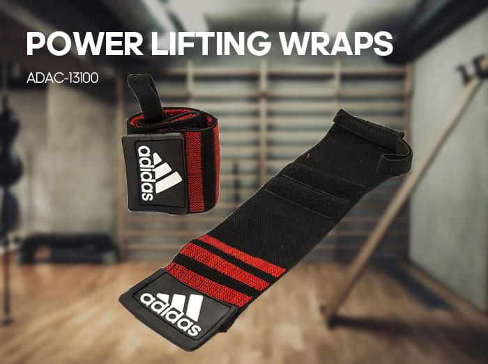 【adidas】Adidas Strength 纏繞式舉重護腕 1