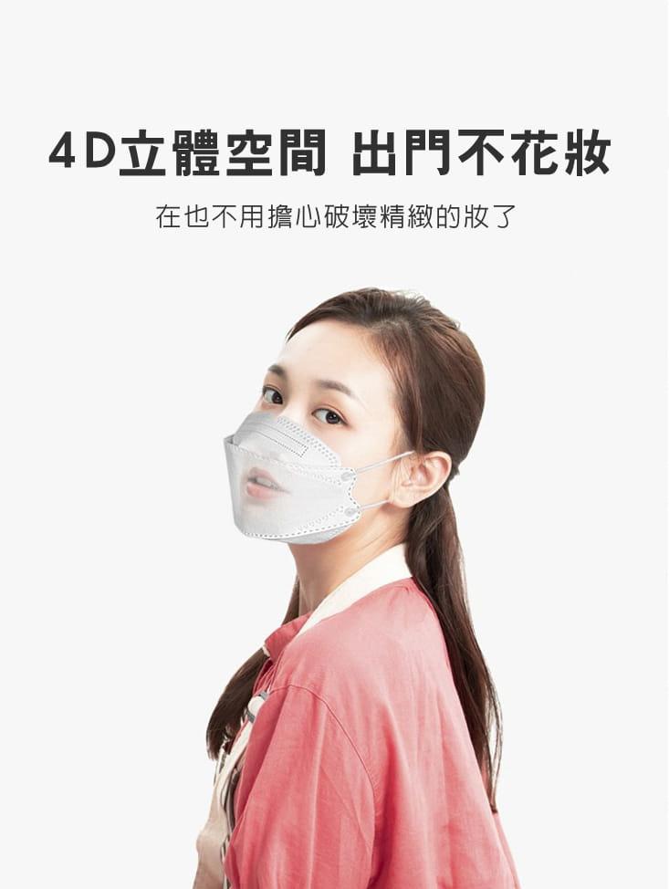 【英才星】KF94四層立體霓彩綜合款口罩(50片/組) 6