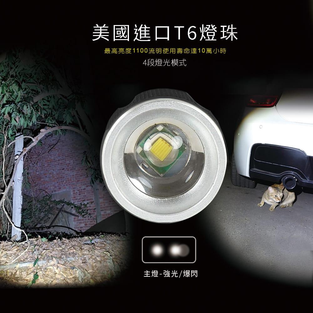 【RONEVER】PA-6充電式工作燈手電筒 1