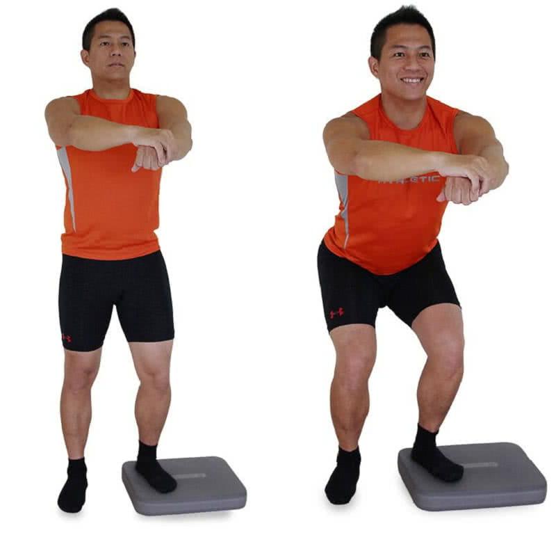 【BALANCE 1】核心健身平衡墊 (綠色) 5