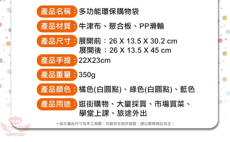 多功能環保購物袋 19