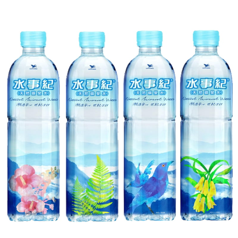 統一水事紀礦泉水600ml(24瓶/箱)