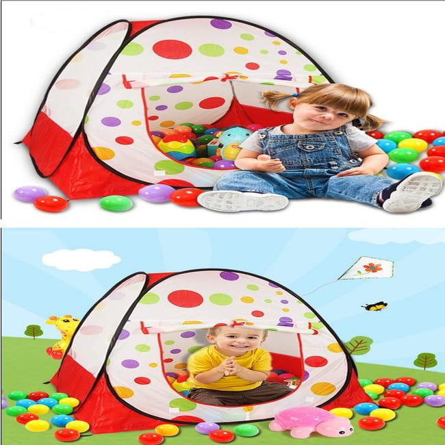球屋 遊戲間 帳篷 小帳篷 折疊遊戲球屋 海洋球屋 玩具屋 3