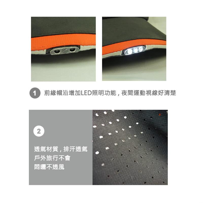 【LED運動帽 遠近照明】 7