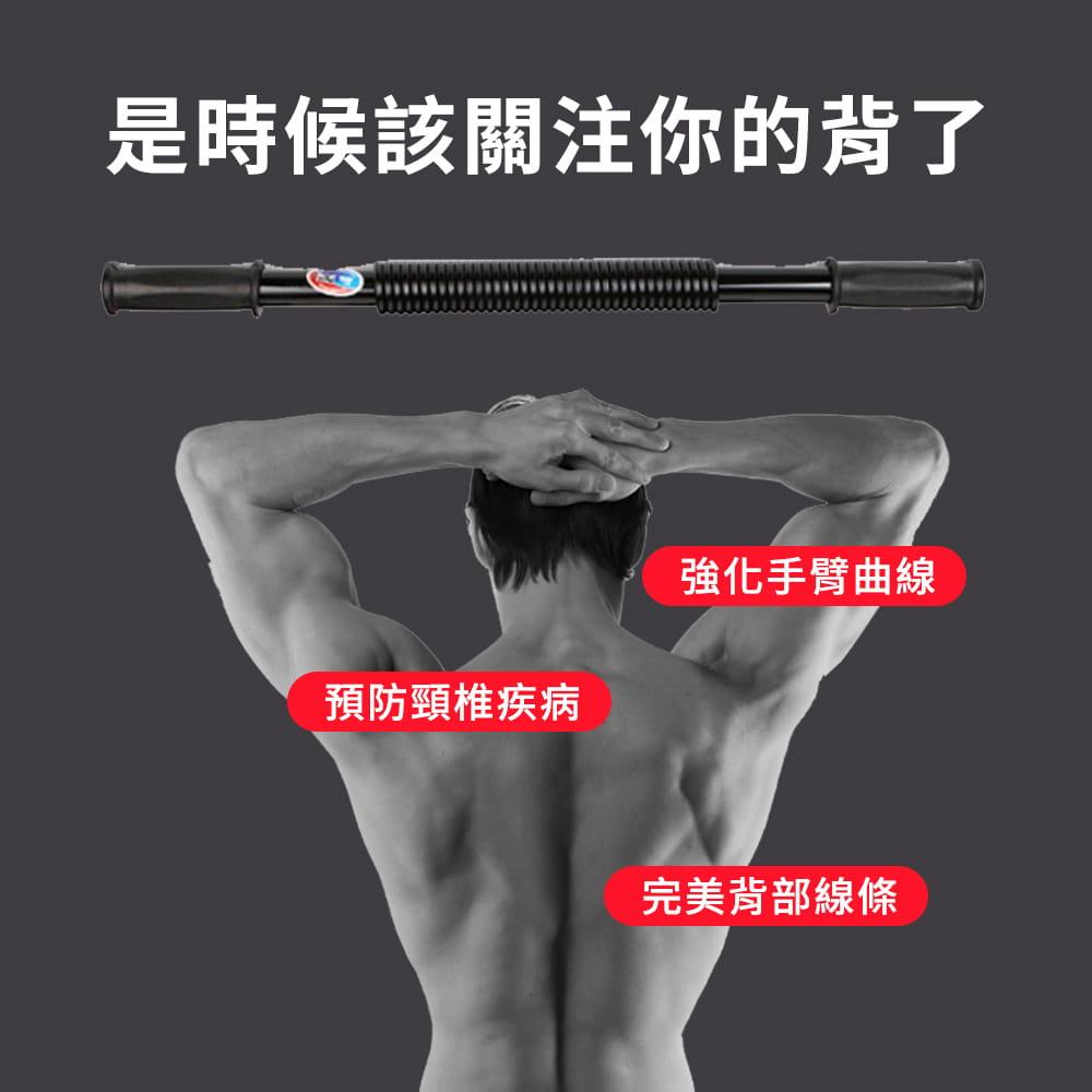 40公斤臂力器◆雙簧 臂力棒 彈簧棒 握力 腹肌 二頭肌 胸肌 伏地挺身 健肌器 重訓 健身舉重 2