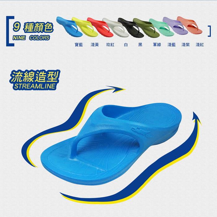 【母子鱷魚】MIT三代正宗路跑氣墊拖鞋(原廠供貨) 2