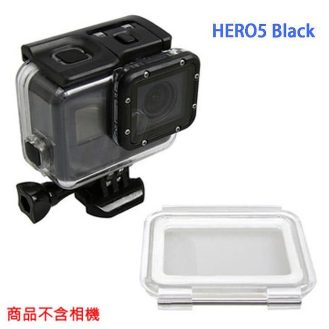 副廠 GOPRO HERO5 HERO6 HERO7 Black 防水殼+觸控後蓋 不拆鏡頭