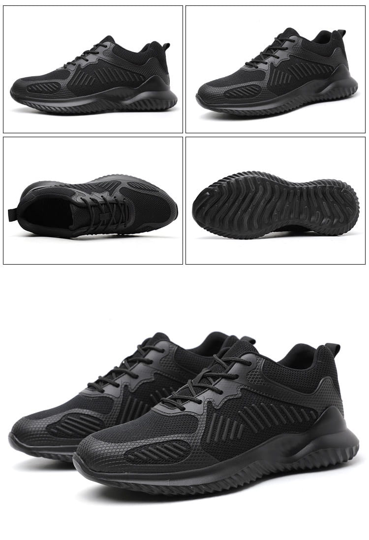 黑凱薩機能鋼鐵鞋 14