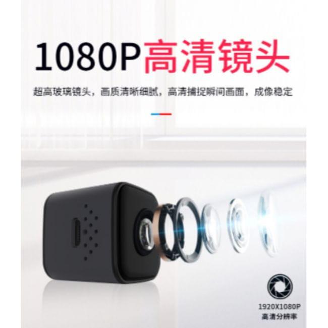 迷你監視器 I高清磁吸密錄器 廣角微型攝影機 夜視無光 支援128G 移動偵測 監視器 手機連結 4