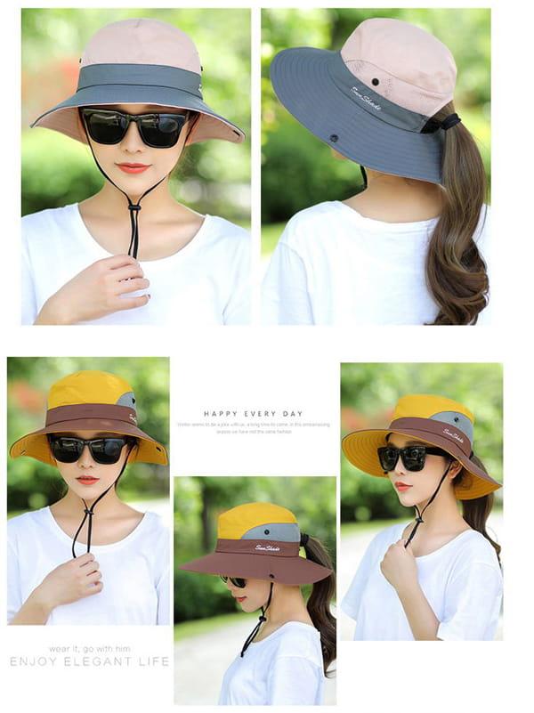 超透氣網狀防曬遮陽帽(男女適穿) 13