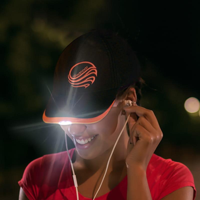 【LED運動帽 遠近照明】 1