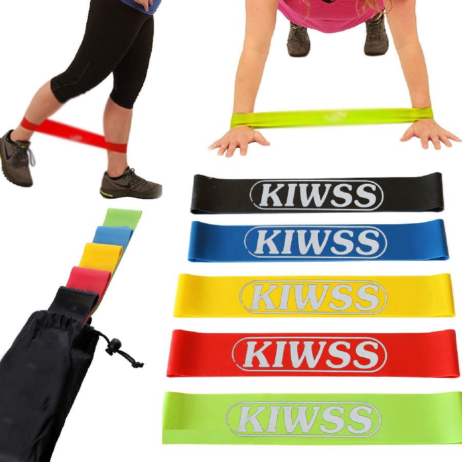 【50磅 黑色 50cm】KIWSS凱沃斯 天然乳膠阻力圈 2