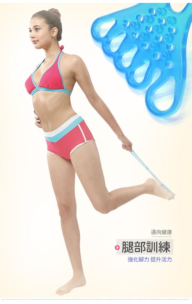 台灣製造!!五指型QQ果凍拉力繩   果凍繩彈力繩 6