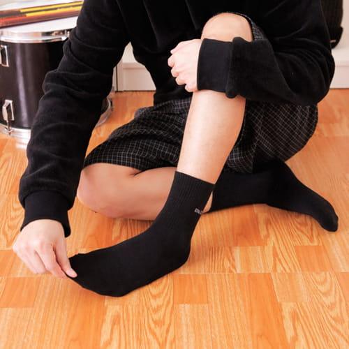 【老船長】(B6)SINA COVA刺繡氣墊加大運動襪 4