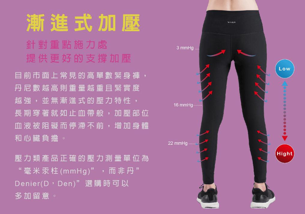 【MARIN】台灣製-高腰塑腹日著壓力褲 4