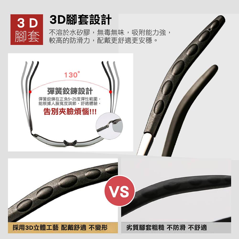 【抗紫外線UV400 偏光鏡片夾 安全防爆鏡片】太陽眼鏡夾 墨鏡夾 偏光眼鏡 偏光鏡片 5