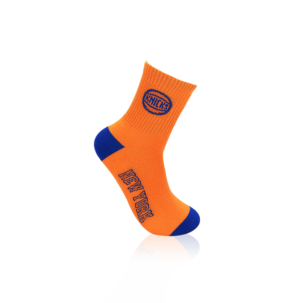 【NBA】球隊款緹花中筒襪 8