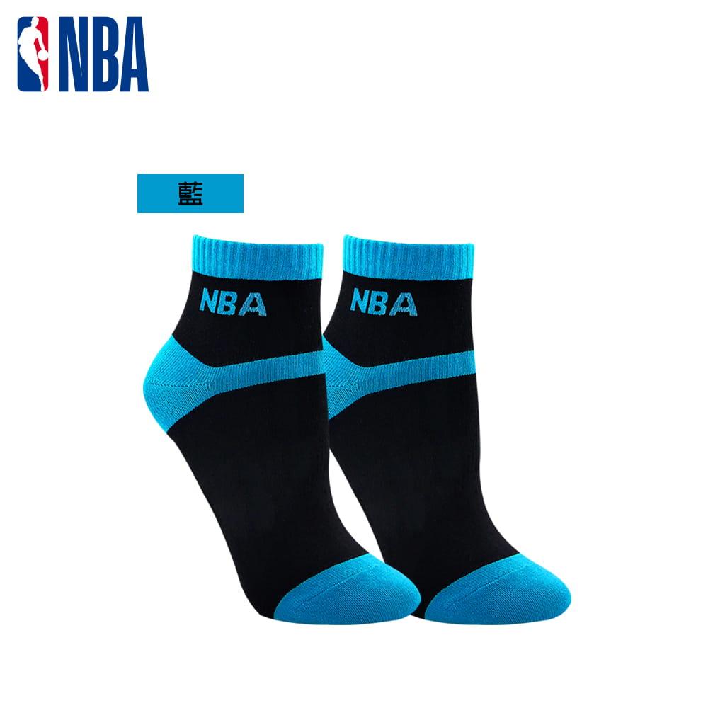 【NBA】 女款百搭平板緹花短襪 3