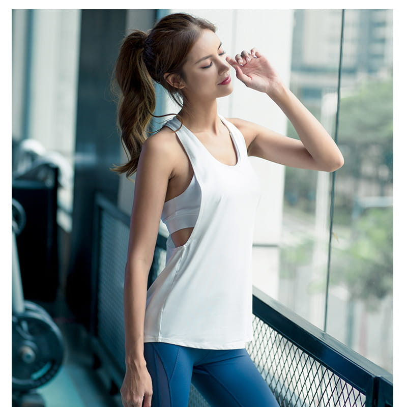 【JAR嚴選】運動健身速乾機能顯瘦背心 7