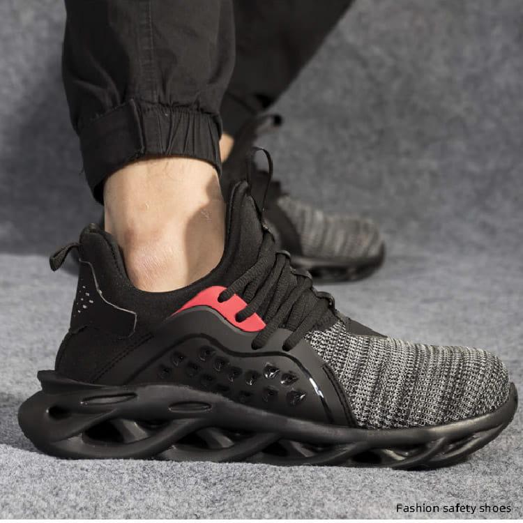 【尼斯生活】黑彈簧機能鋼鐵鞋 11