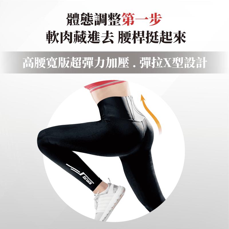 【sNug】專利5合1體態調整機能壓縮褲 民視消費高手缺貨秒殺款 健康回正褲 塑身加壓褲 3