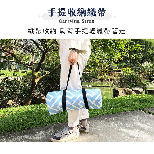 【OUTSY】台灣製300x290巨大獨家花色野餐墊帳篷地墊 11